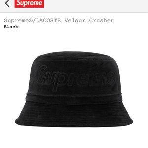Supreme Accessories - Supreme Lacoste bucket hat a80cc2f5731